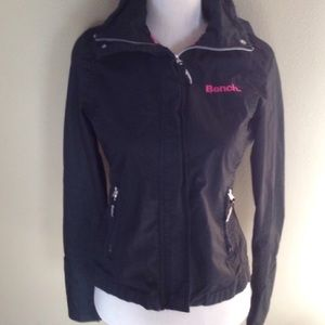 Bench black pink medium light weight jacket